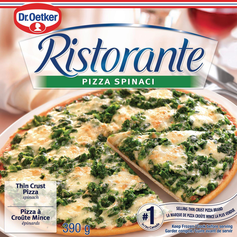 Pizza surgelée Ristorante Pizza Spinaci de Dr. Oetker