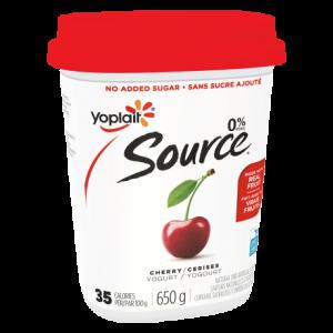 Yogourt Yoplait Source aux cerises format 650g