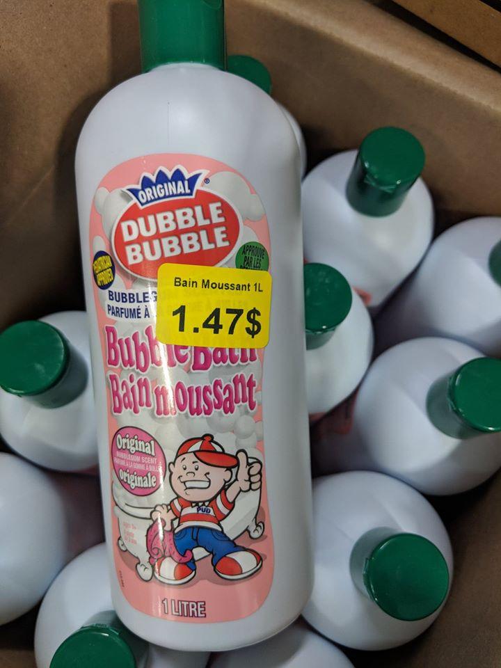 Le savon Dubble Bubble