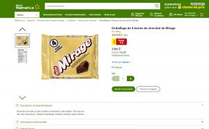 Trois paquets de chocolat pour 9$