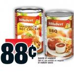 Aubaine vedette de la semaine: sauce St-Hubert à 88 cents chez Super C